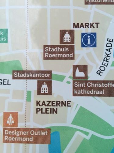 Infopaneel met Stadskantoor