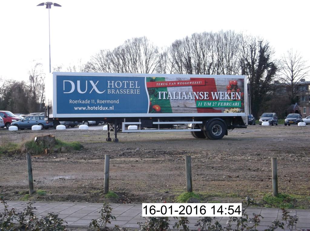 Oplegger Dux 14-01-2016