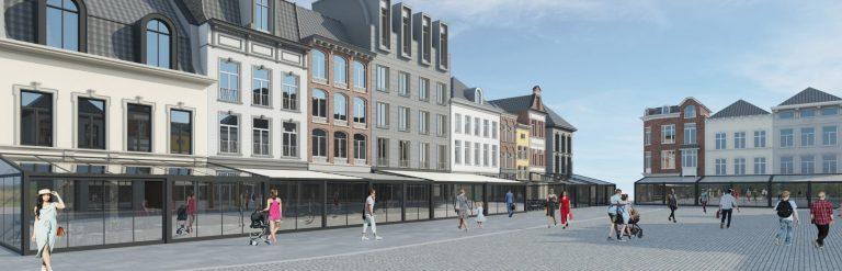 Toekomst Markt Roermond kleiner